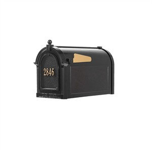 Personalized Capitol Mailbox Package - Door Plaque