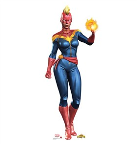 Captain Marvel Contest of Champions Game Cardboard Cutout
