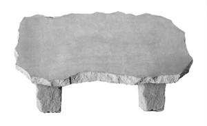 Carved Large Bench