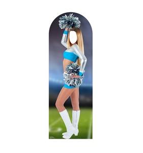 Cheerleader Standin Cardboard Cutout