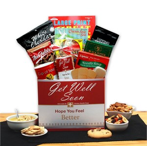 Chicken Noodle Soup Get Well Gift Box