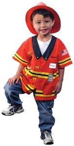 Child Fire Chief Costume
