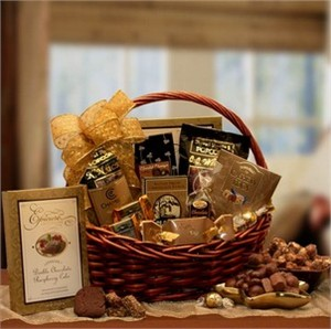 Chocolate Gourmet Gift Basket - Medium
