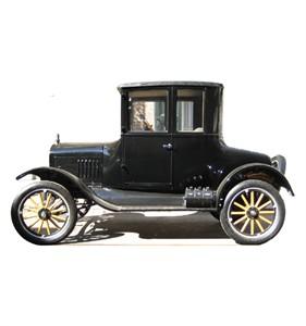 Classic Car Cardboard Cutout