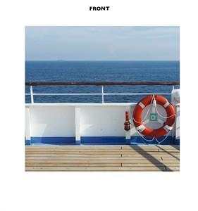 Cruise Ship Deck Backdrop Cardboard Cutout