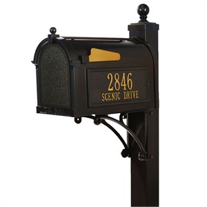 Personalized Deluxe Capitol Mailbox Package