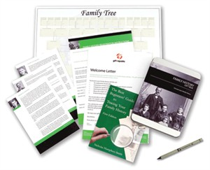 Discover Your Family History Gift Box