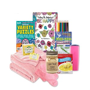 Don't Worry Be Happy Get Well Gift Set