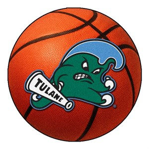 Tulane University Basketball Rug