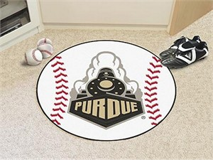 Purdue University Baseball Rug