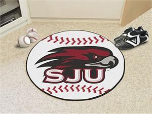 St. Joseph's University Baseball Rug
