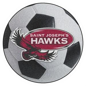 St. Joseph's University Soccer Ball Rug
