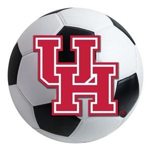 University of Houston Soccer Ball Rug