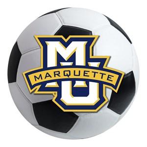 Marquette University Soccer Ball Rug