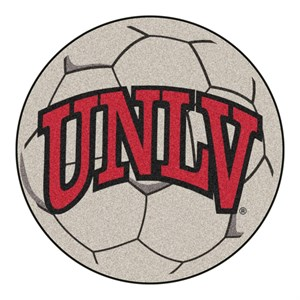 University of Las Vas Nevada Soccer Ball Rug