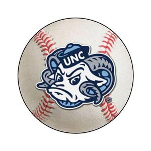 University of North Carolina Chapel Hill Baseball Rug - Tar Heels Logo