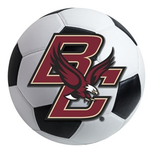 Boston College Soccer Ball Rug