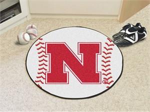 University of Nebraska Baseball Rug