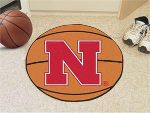 University of Nebraska Basketball Rug