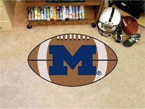 University of Michigan Football Rug