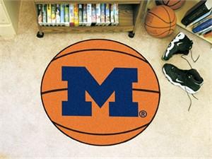 University of Michigan Basketball Rug