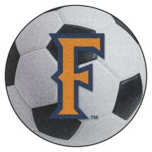California State University Fullerton Soccer Ball Rug