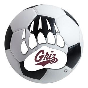 University of Montana Soccer Ball Rug