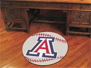 University of Arizona Baseball Rug