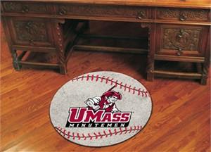 University of Massachusetts Amherst Baseball Rug
