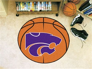Kansas State University Basketball Rug