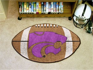 Kansas State University Football Rug