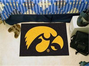 University of Iowa Rug - Hawkeyes Logo
