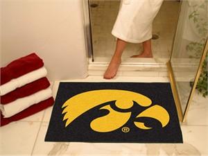 University of Iowa All-Star Mat - Hawkeyes Logo