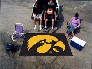University of Iowa Ultimate Mat - Hawkeyes Logo