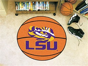 Louisiana State University Basketball Rug