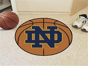 Notre Dame University Basketball Rug