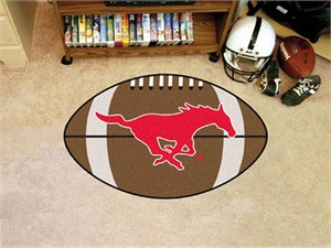 Southern Methodist University Football Rug
