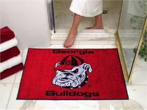 University of Georgia All-Star Mat - Bulldogs Logo