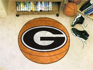 University of Georgia Basketball Rug - G Logo