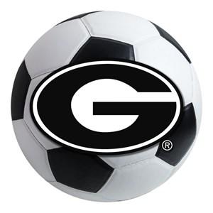 University of Georgia Soccer Ball Rug - G Logo