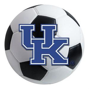 University of Kentucky Soccer Ball Rug - UK Logo