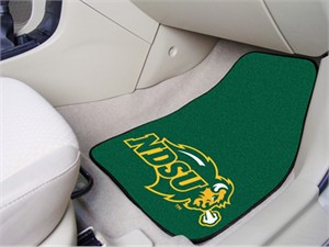 North Dakota State University Car Mat Set