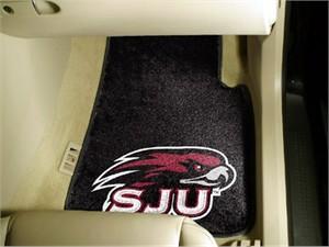 St. Joseph's University Car Mat Set
