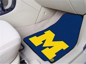 University of Michigan Car Mat Set