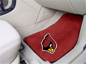 Arizona Cardinals Car Mat Set