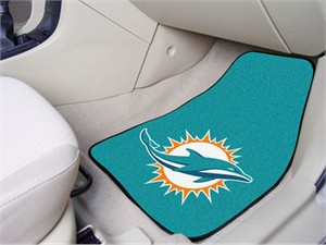 Miami Dolphins Car Mat Set