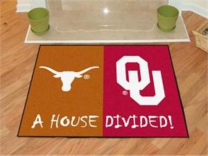 Texas / Oklahoma House Divided All-Star Mat