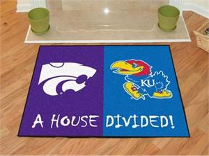 Kansas / Kansas State House Divided All-Star Mat