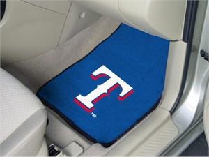 Texas Rangers Car Mat Set
