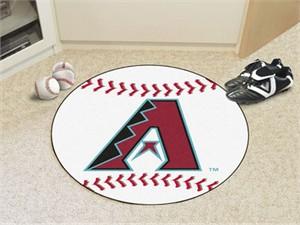 Arizona Diamondbacks Baseball Rug